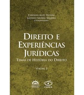 Direito e Experiências Jurídicas Vol. 3